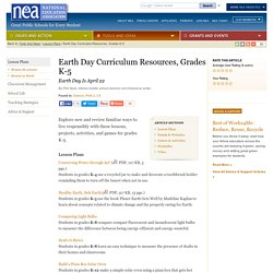 Earth Day Curriculum Resources, Grades K-5