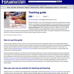 Curriculum science teaching guide