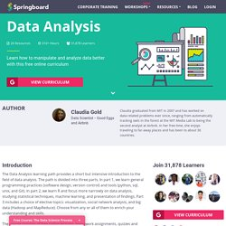 Learn Data Analysis - Free Curriculum
