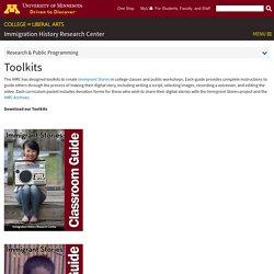 Immigrant Stories Curriculum