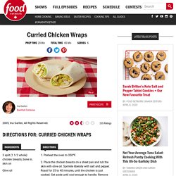(too keep moms try)Curried Chicken Wraps Recipes