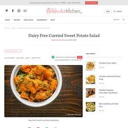 Dairy Free Curried Sweet Potato Salad - Slender Kitchen