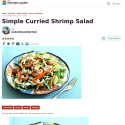 Curried Shrimp Salad- The Kitchen Magpie