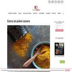 Curry en polvo casero - Eva muerde la manzana