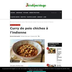 Curry de pois chiches à l'indienne : Recette