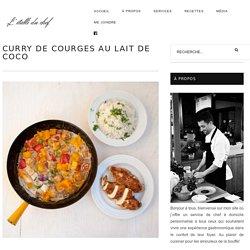 Curry de courges au lait de coco - Chef à domicile à Québec