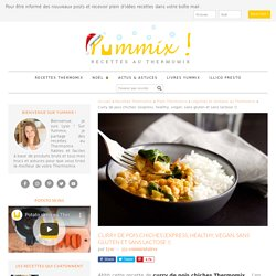 Curry de pois chiches au Thermomix