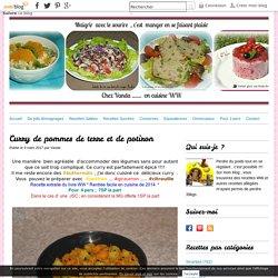 Curry de pommes de terre et de potiron