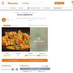 Curry végétarien : Recette de Curry végétarien