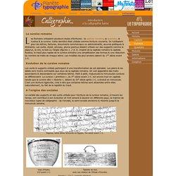 La cursive romaine: l'écriture latine au stylet