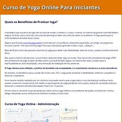 Curso de Yoga Online