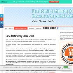 Curso de Marketing Online Gratis