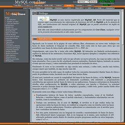 Curso de MySQL - Prólogo