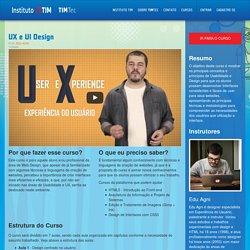 Curso: UX e UI Design