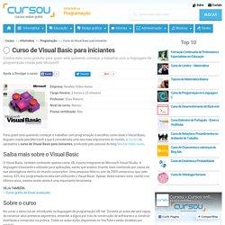 Curso de Visual Basic para iniciantes