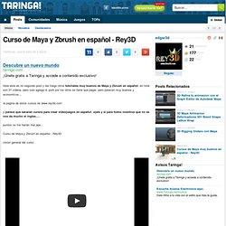 Curso de Maya y Zbrush en español - Rey3D