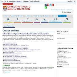 Cursos en línea - Departamento de Educación Departamento de Educación