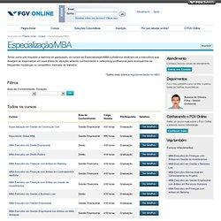 MBA Executivo Internacional em Gerenciamento de Projetos