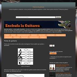 Notas de guitarra