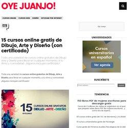 15 cursos online gratis de Dibujo, Arte y Diseño (con certificado)
