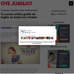 12 cursos online gratis de Inglés en todos los niveles