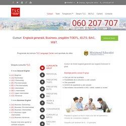 TLC » Cursuri Engleză generală, TOEFL, IELTS, BAC.