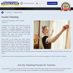 Drape Cleaning Melbourne