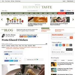 Curtis Stone: Pesto Glazed Chicken