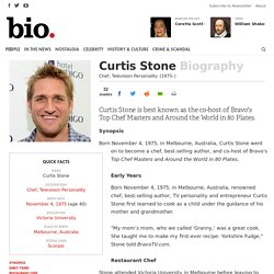 Curtis Stone - Chef, Television Personality