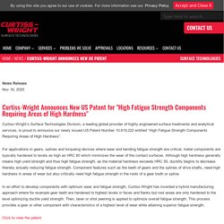 Curtiss-Wright Announces New US Patent