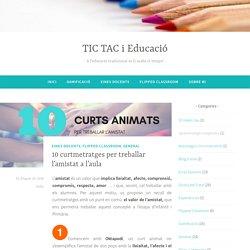 10 curtmetratges per treballar l'amistat a l'aula – TIC TAC i Educació