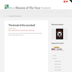 The break of the curveball « Best Illusion of the Year Contest