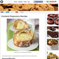 Custard Popovers Recipe