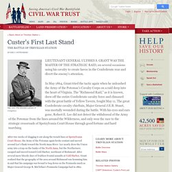 Custer's First Last Stand