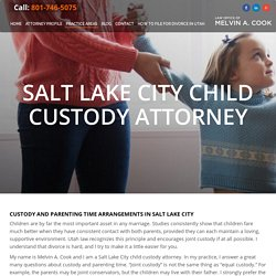 Child Custody Attorney Salt Lake City