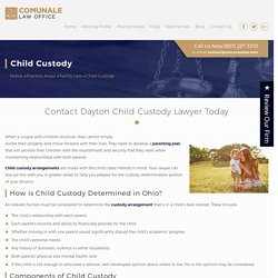 Child custody attorneys Dayton
