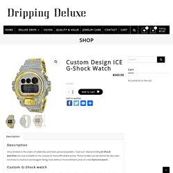 Custom Design ICE G-Shock Watch