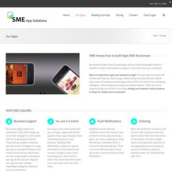 Custom Mobile Apps Developers Australia