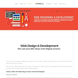 Renowned Web App Development Agency, USA- Onters