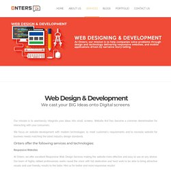 Onters- Effective Web Development Services in USA