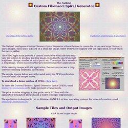 Fibonacci Spiral Generator