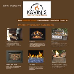Custom Fireplace Glass Doors Orange County