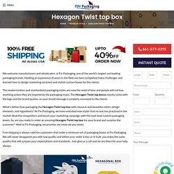 Custom Hexagon Twist Boxes