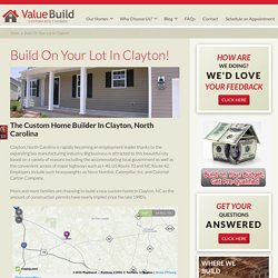 Custom Home Builder Clayton