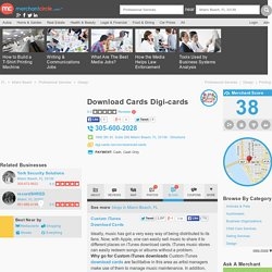 Download Cards Digi-cards in Miami Beach, FL 33139