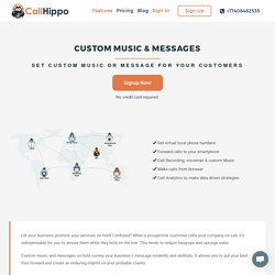 Setup Custom Music & Messages With CallHippo