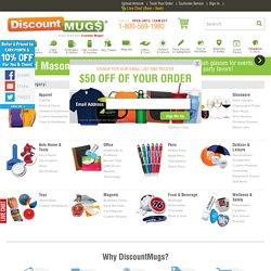 Custom Mugs & Promotional Mugs - Discount Travel Mugs