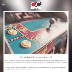 Créer des Custom Queries par date avec ACF - Copier coller
