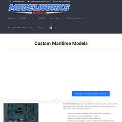 Custom Maritime Models