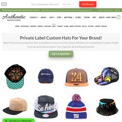 Custom Snapback Hats for Your Team